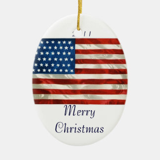 Christmas In America Ornament