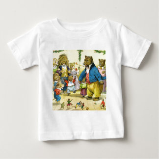 Christmas In Animal Land Baby T-Shirt