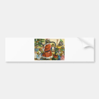 Christmas In Animal Land Car Bumper Sticker