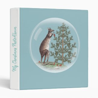 Christmas in Australia 3 Ring Binder