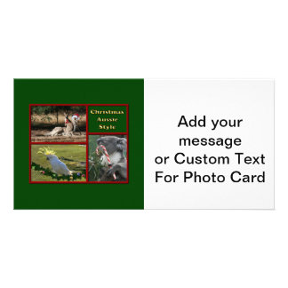 Christmas in Australia Photo Card
