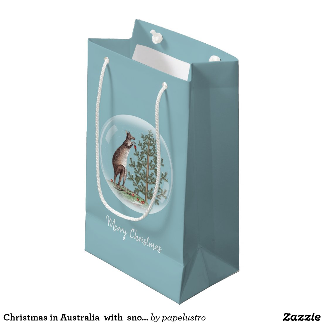 Christmas in Australia Small Gift Bag
