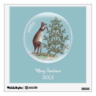 Christmas in Australia Wall Sticker