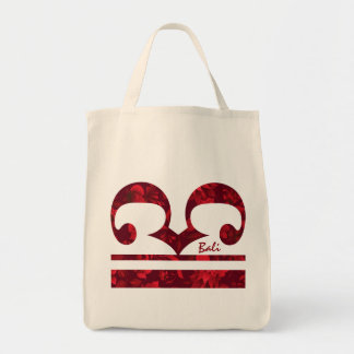 Christmas in Bali Batik 1 Ornament 1 Tote Bag