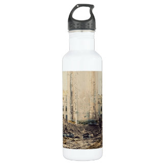 Christmas in Bastogne 101st Airborne Water Bottle