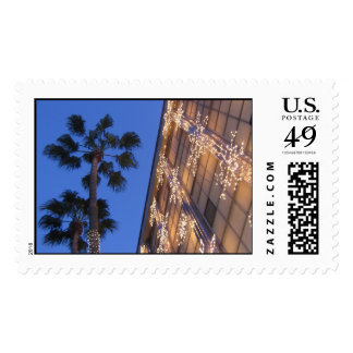 Christmas in Beverly Hills Postage Stamp