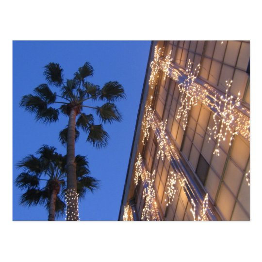 Christmas in Beverly Hills Postcard