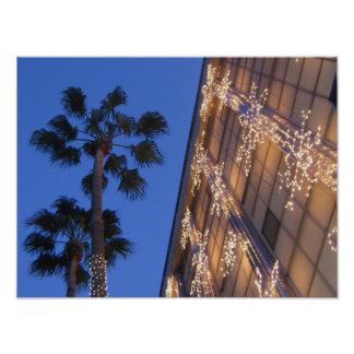 Christmas in Beverly Hills Print