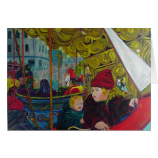CHRISTMAS IN CHOLET deep colors Cards