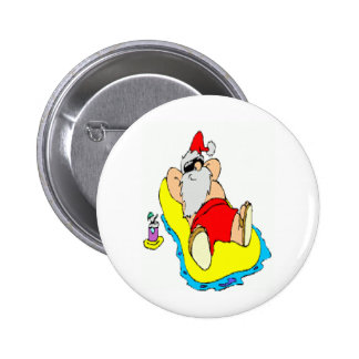 Christmas In Dixie Pinback Button