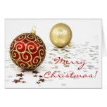 Christmas In English Greeting Card