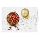 Christmas In English I Greeting Card