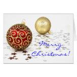 Christmas In English II Greeting Card