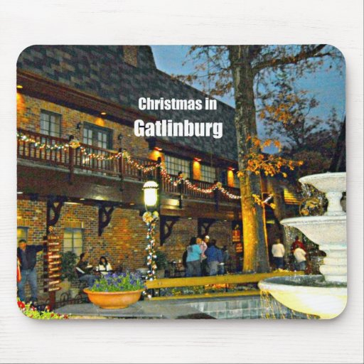 Christmas in Gatlinburg, Tennessee Mouse Pad