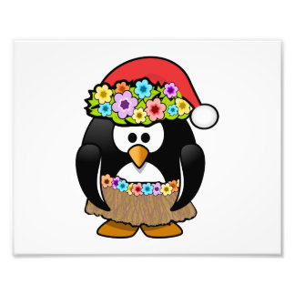 Christmas in July Penguin Photo