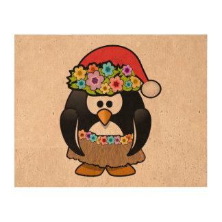 Christmas in July Penguin Cork Paper Prints