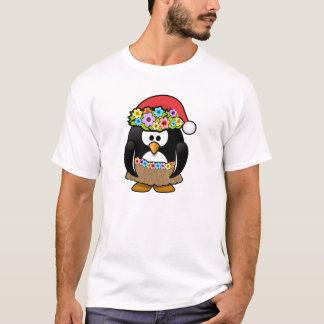 Christmas in July Penguin T-Shirt