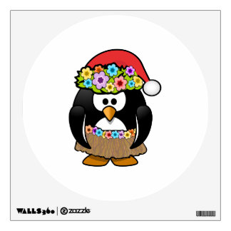 Christmas in July Penguin Wall Decal