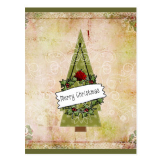 Christmas in July tree Postcard