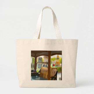 Christmas in Key West Large Tote Bag