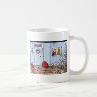 CHRISTMAS IN MAINE CLASSIC WHITE COFFEE MUG