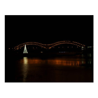 Christmas in Memphis Postcard
