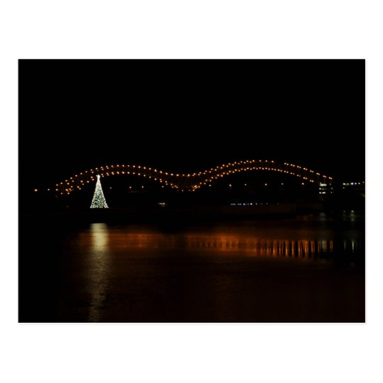 Christmas in Memphis Postcard