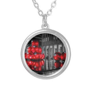 Christmas in New York City Photo Necklace