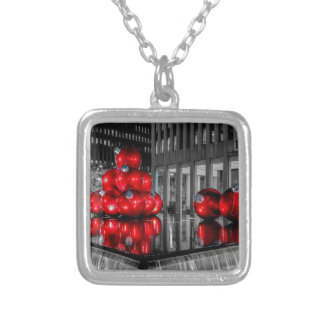 Christmas in New York City Photo Necklaces