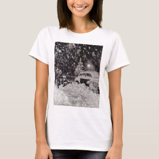 Christmas in New York City Vintage 1950s T-Shirt