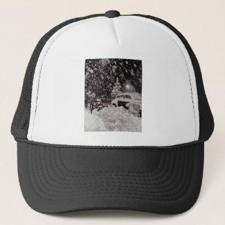 Christmas in New York City Vintage 1950s Trucker Hat