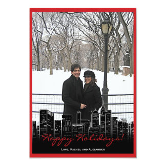 Christmas in New York Photo Card