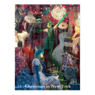 Christmas in New York Post Card