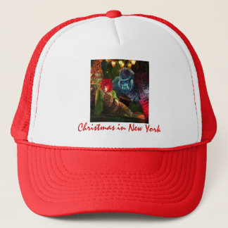Christmas in New York Trucker Hat