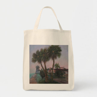 CHRISTMAS IN OLD FLORIDA Grocery Tote
