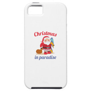 Christmas In Paradise iPhone SE/5/5s Case