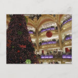 Christmas in Paris Postcard