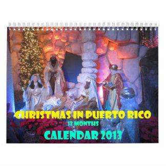 Christmas in Puerto Rico - 2013 - art by Galina - Calendar