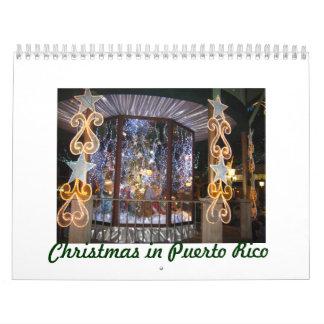 Christmas in Puerto Rico Calendar