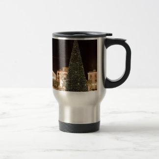 Christmas in Sorrento 15 Oz Stainless Steel Travel Mug