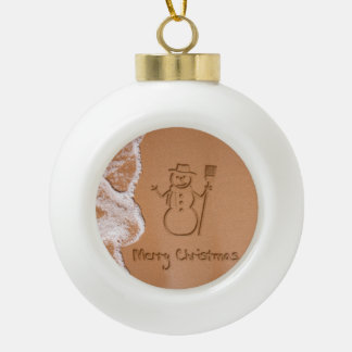 Christmas in Summer - Ceramic Ball Ornament