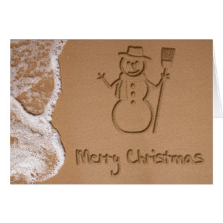 Christmas in Summer - Greeting Card