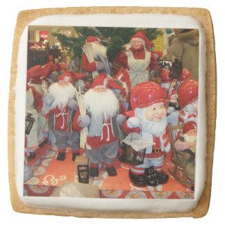 Christmas in Sweden Square Premium Shortbread Cookie