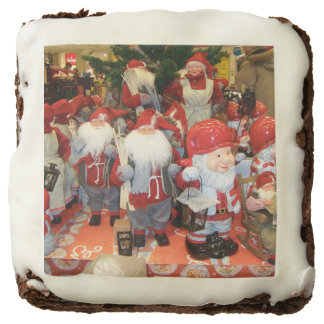 Christmas in Sweden Square Brownie