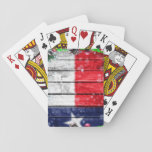 Christmas in Texas Playing Card