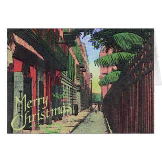 Christmas In The Alley Card