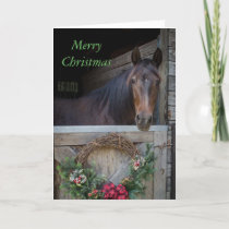 Christmas in the Barn Holiday Card