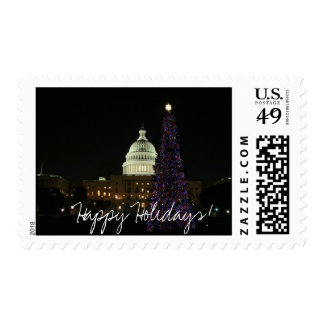 Christmas in the Capitol Postage Stamp