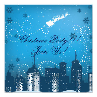 Christmas In The City Custom Products Personalized Invites