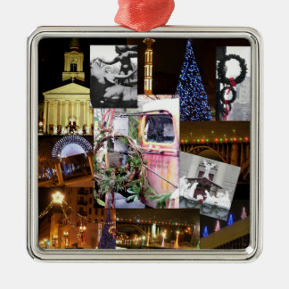 Christmas in the City-Knoxville, Tennessee Christmas Ornament